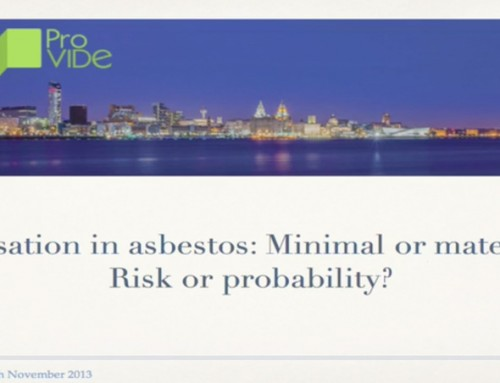 Causation in asbestos: Minimal or material? Risk or probability?