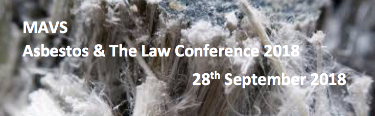 Asbestos & the Law Conference – 28th September 2018