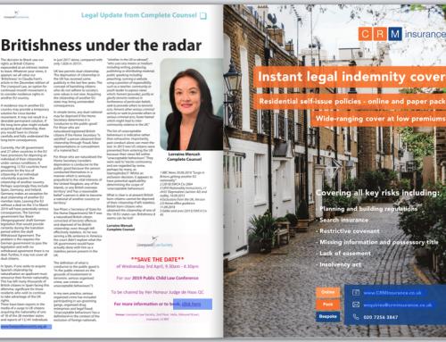 Lorraine Mensah in Liverpool Law Magazine